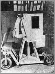 A photograph of the colour camera taken in the South Tower circa 1938